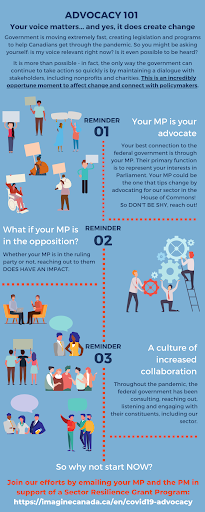 Advocacy Crash Course Infographic
