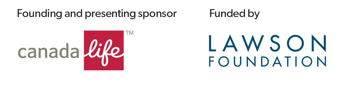 Sponsor logos: Canada Life and Lawson Foundation
