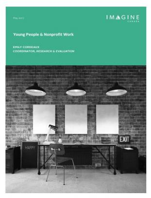 Young People & Nonprofit Work - May 2017
