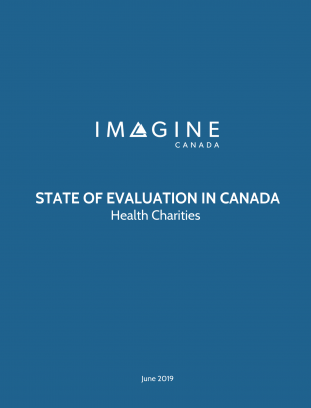 State of Evaluation in Canada: Health Charities